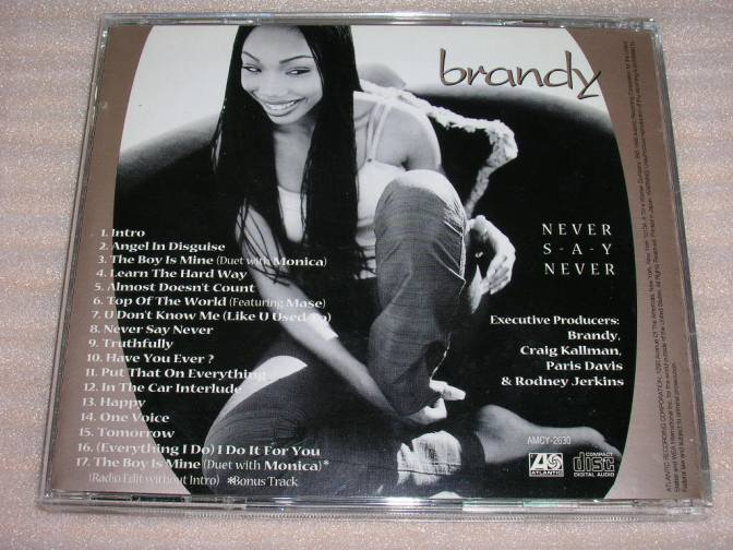 ON THIS DAY…20 years ago #Brandy released 'Never Say Never'! [vids]