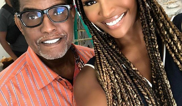 HOT SHOT of the DAY: #GreggLeakes and #CynthiaBailey are ALL SMILES! [pic]