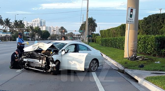 Footage and 9-1-1 audio from #LilScrappy's horrific car crash RELEASED! [vid]
