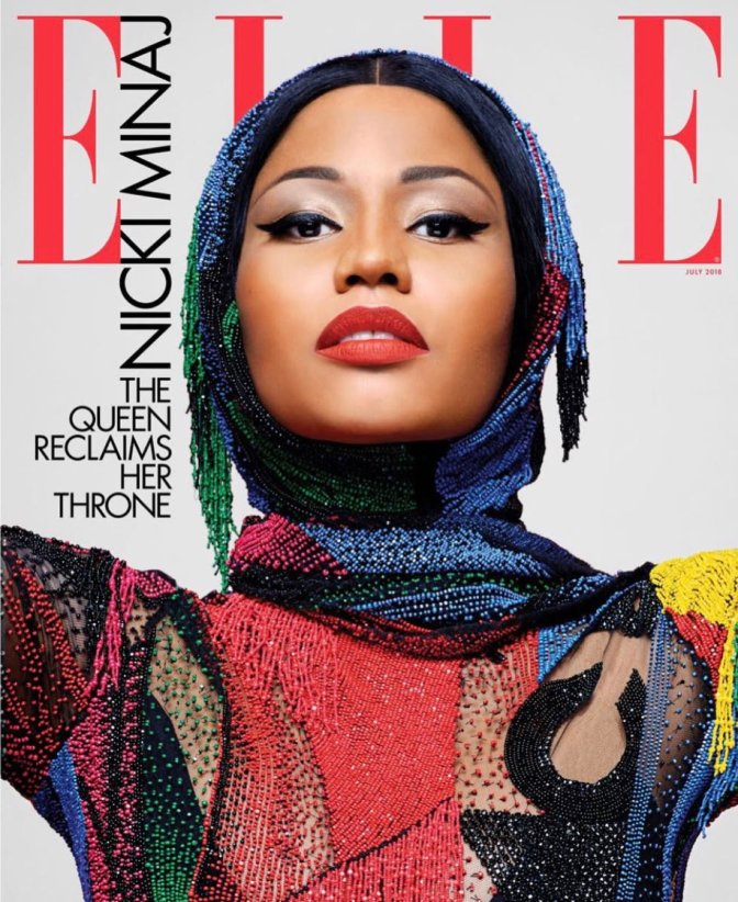 MAG TAG: #NickiMinaj covers #Elle magazine! [pics]