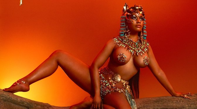 #NickiMinaj REVEALS the EYE-POPPING cover for #Queen! [pic]