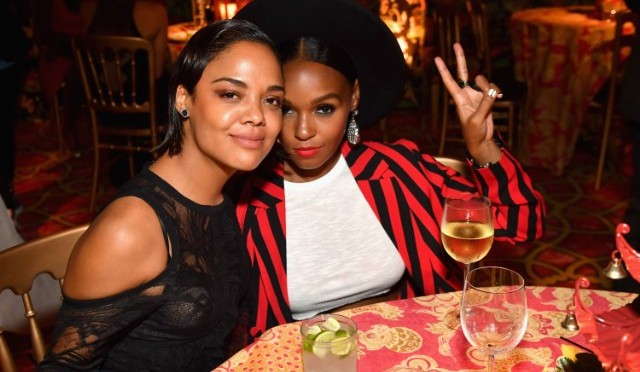 Boo'd Up! #JanelleMonae & #TessaThompson are a COUPLE! [details]