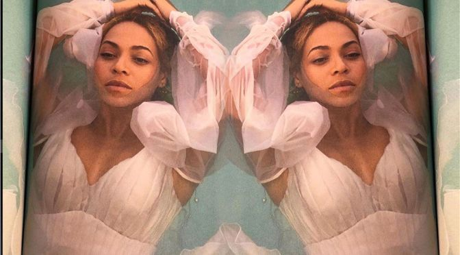 CUTE SHOT of the DAY: #Beyonce with #Rumi & #Sir! [pic]