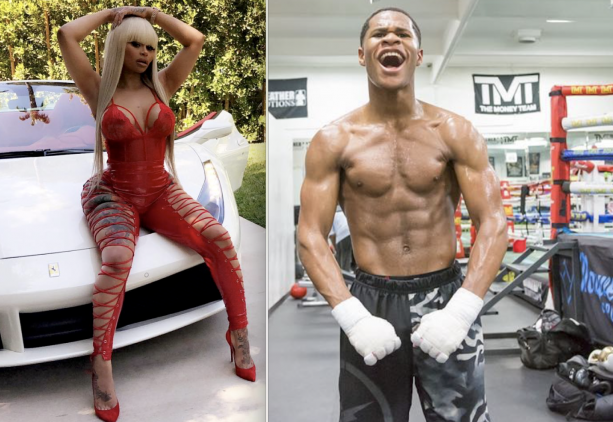 #BlacChyna DATING another TEEN.. 19 year old boxer #DevanHaney!?
