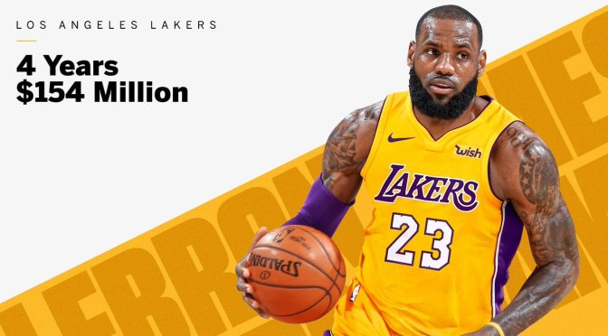#NBA NEWS: #LebronJames headed to the #Lakers! [details]
