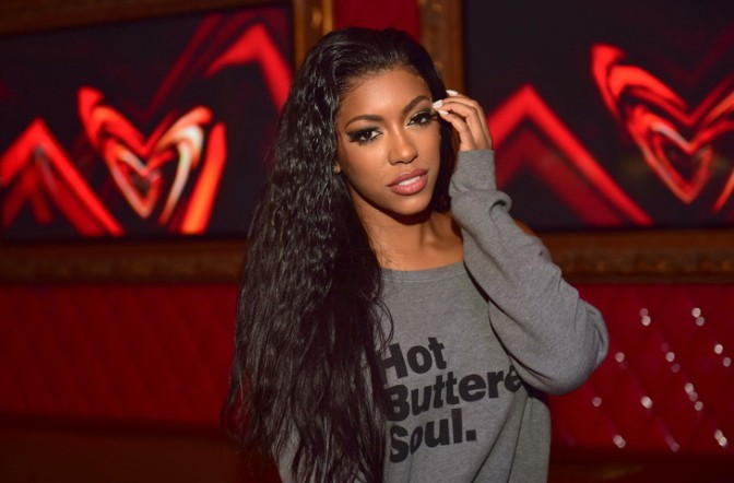 'Boo'd Up! #RHOA's #PorshaWilliams shows off NEW Boyfriend! [pics]