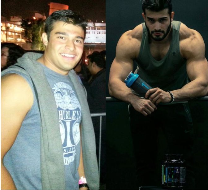 Britney's BEAU #SamAsghari talks 100lb transformation and how Brit INSPIRES him! [details]