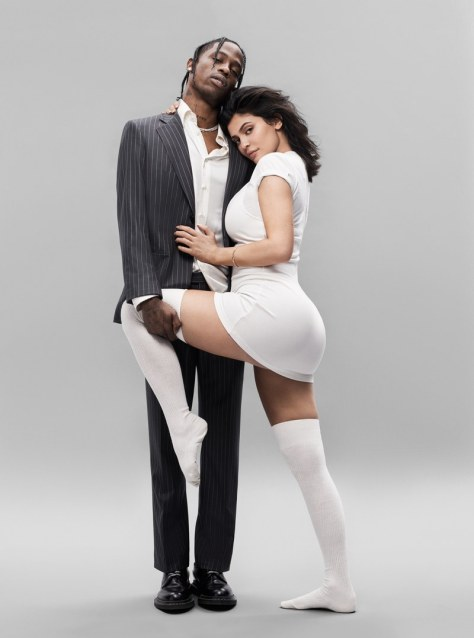 Kylie Jenner and Travis Scott-Modern-Family-GQ-August-2018-06