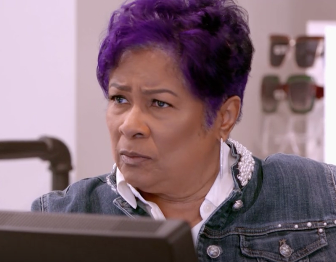 #LHHATL NEWS: #MissShirleen CUSSED 2 patrons the F*CK out for being RUDE in 'Pressed'! [vid]