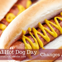 Today is #NationalHotDogDay! Find out where to cop FREE dogs and tasty deals!