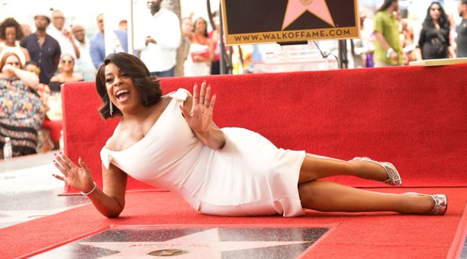 #NiecyNash receives a STAR on the #HollywoodWalkOf Fame! [vid]