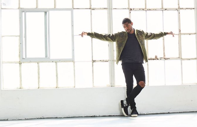 MAG TAG: #Usher talks LIFE, WISDOM & more for #Gio! [pics]