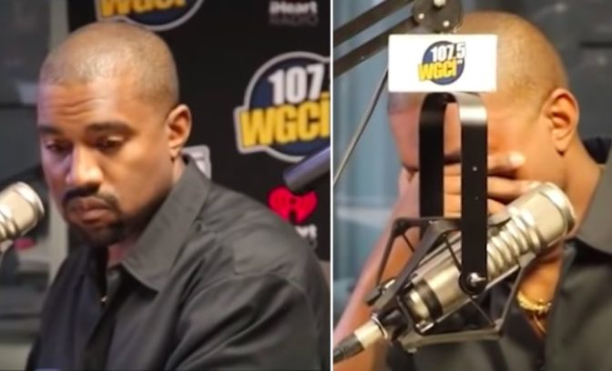 #KanyeWest BREAKS DOWN in tears while apologizing for slavery comments! [vid]