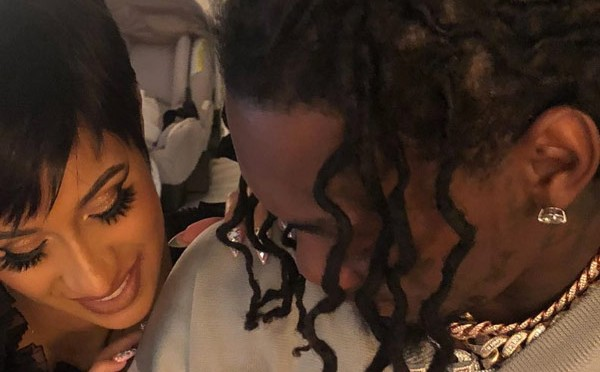 #CardiB & #Offset TEASE first baby pic of #Kulture! [pic]