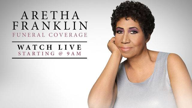 LIVESTREAM: #ArethaFranklin's MEMORIAL SERVICE here! [vid]