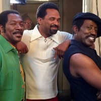 STAR TRACKS: #MikeEpps #EddieMuphy #WesleySnipes on set of 'Dolemite'! [pic]