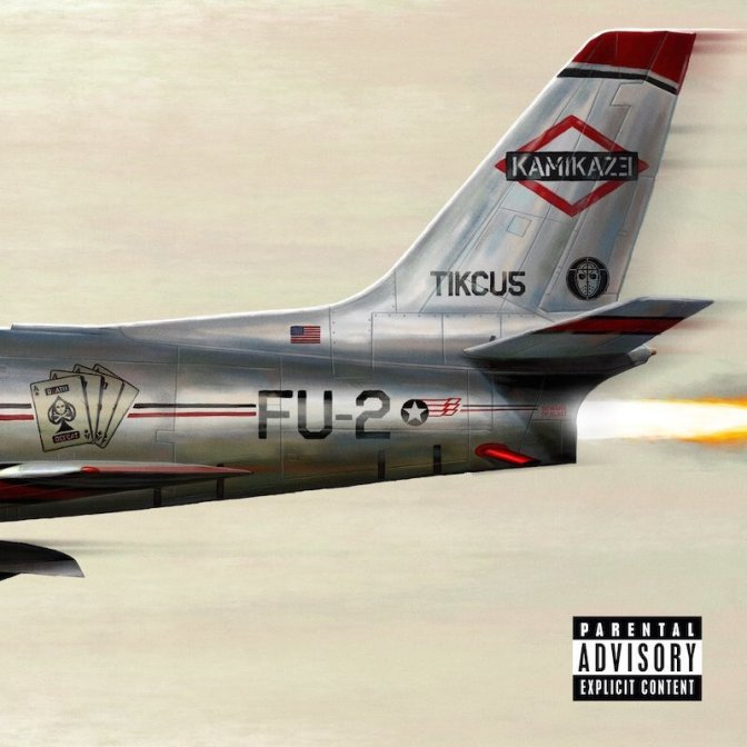 STREAM: #Eminem drops SURPRISE album, #Kamikaze! [audio]
