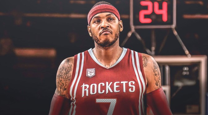 #CarmeloAnthony is headed to #Houston! [details]