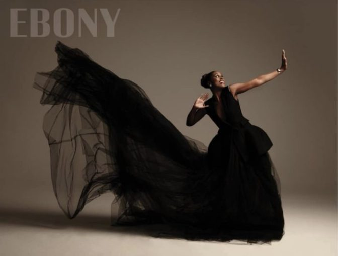 MAG TAG: #IssaRae covers #Ebony! [pics]