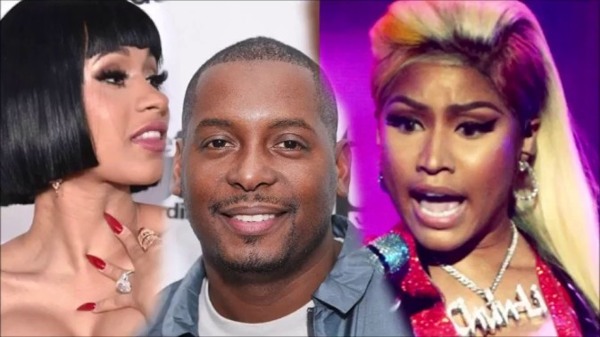 #NickiMinaj goes in on #DJSelf for trying to have her spread RUMORS about #CardiB! [details]