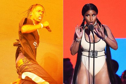 #NickiMinaj awards #TravisScott 'Hoe N*gga of the Week' Award! [audio]