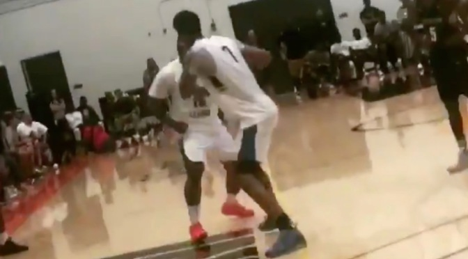 #TheGame APOLOGIZES for FIGHTING his own teammate during #DrewLeague game! [vid]