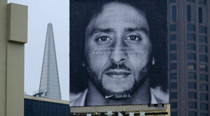 #Nike backing #Kaepernick was a BUSINESS move along with social change! [details]