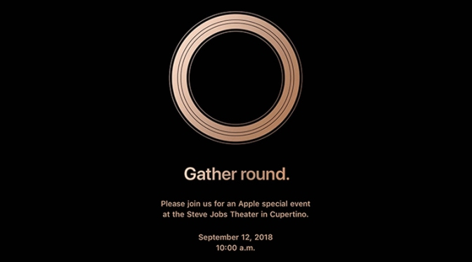 WATCH: #AppleEvent 2018 LIVESTREAM here at 10AM PDT! [vid]