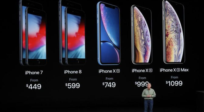 #Apple UNVEILS #iPhone XR, XS, XS Max: that start at $749, $999, $1,099! [vid]