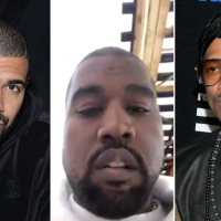 #KanyeWest got some HARD words for #NickCannon & Drake! [vid]