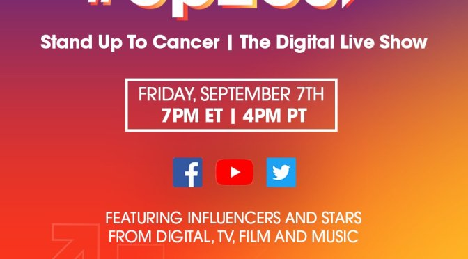 WATCH: #StandUp2Cancer LIVE! #Up2Us [livestream]