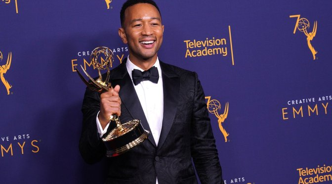 Congrats to #JohnLegend! 1st African-American man to reach #EGOT status!! [details]