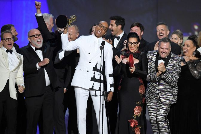 #Emmys: RuPaul's #DRAGRACE makes HISTORY! [details]