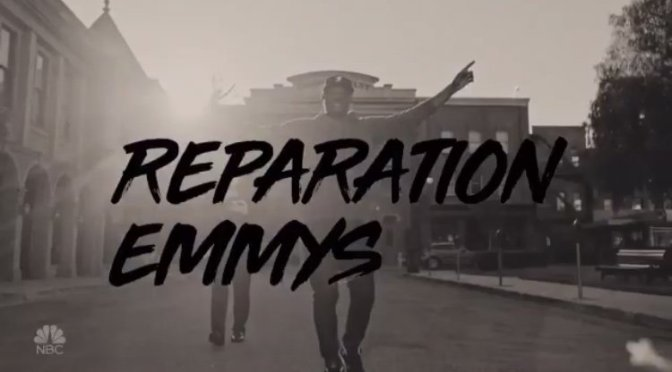 #Emmys host #MichaelChe awards unsung BLACK heroes of TV with #ReparationEmmys! [vid]