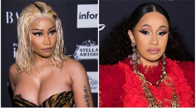 #NickiMinaj TALKS about the#CardiB 'fight' at #NYFW on #QueenRadio! [audio]