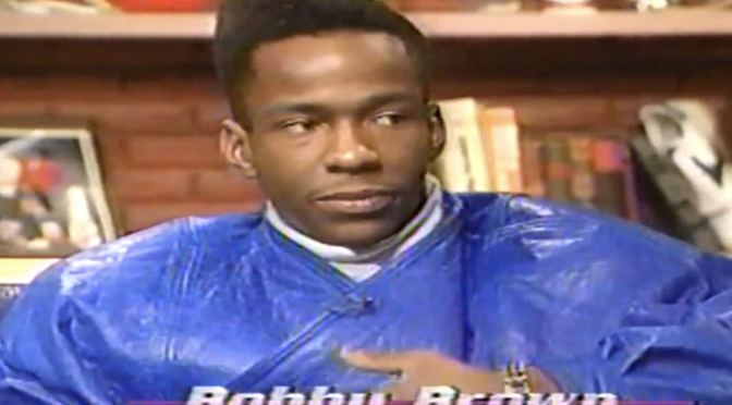 WATCH: #BobbyBrown PROFESSES his LOVE for #JanetJackson back in 1989! [vid]