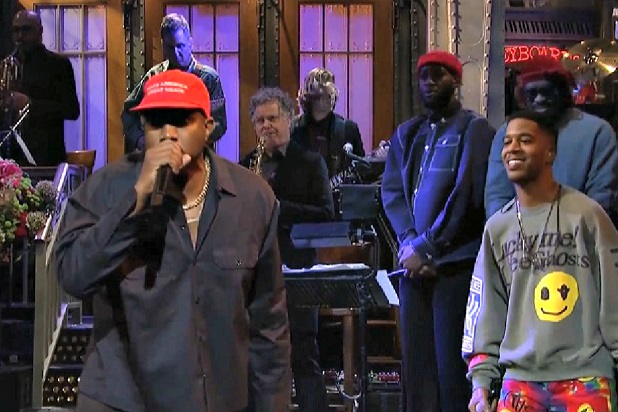 snl-kanye-make-america-great-again-hat