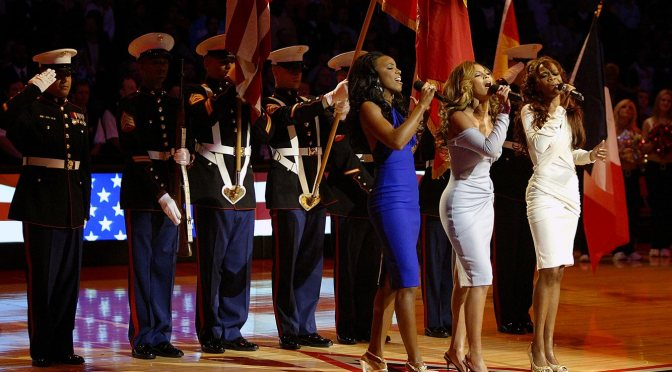 VIBES from the VAULT: #DestinysChild 'Star-Spangled Banner' [vid]
