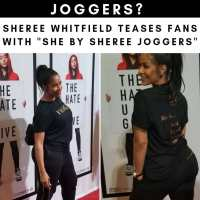 Definitely JOGGERS! #ShereeWhitfield UNVEILS teaser for #SheBySheree fall line! [vid]