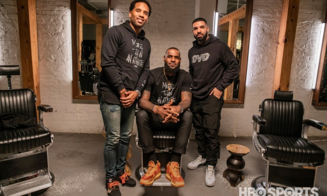 #LebronJames TEASES #TheShop episode 2 with#Drake! [vid]