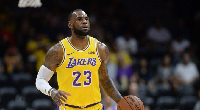 #Nuggets ROUT #Lakers in #LebronJames DEBUT! [vid]