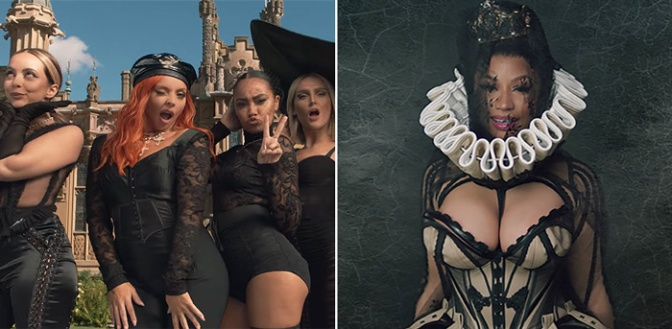 NEW VIDEO:  #LittleMix 'Woman Like Me' feat. #NickiMinaj [vid]