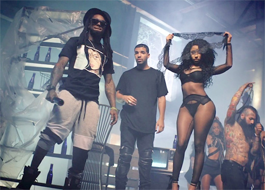 WAKE UP JAM: #NickiMinaj 'Truffle Butter' feat. #Drake & #LilWayne [vid]