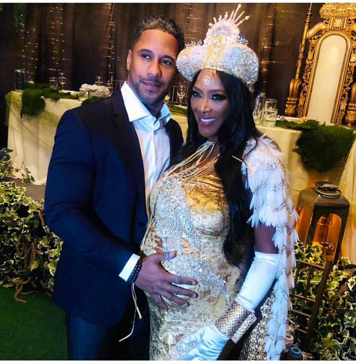 #RHOA NEWS: Go Inside #KenyaMoore's FAIRYTALE Baby Shower! [Pics]