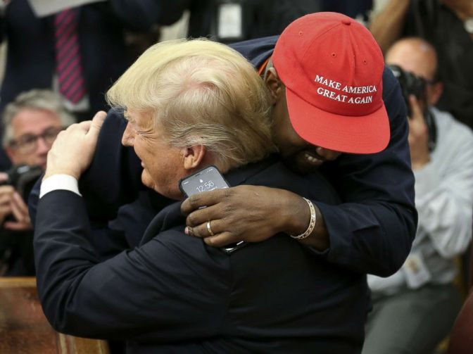 #KanyeWest DROPS F-Bomb, talks about SUPERMAN in WACKY 10-minute RANT at the White House! [details]
