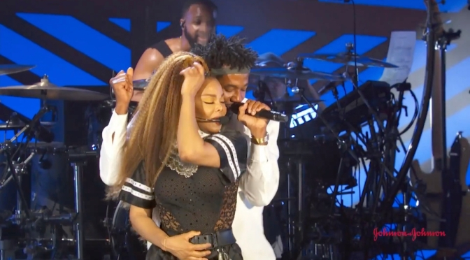 #JanetJackson & #QTip reunite onstage at #GlobalCitizen Fest! [video]