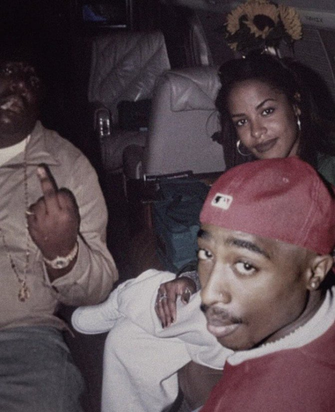 #TBT-LEGENDS #Biggie #Tupac & #Aaliyah-TOGETHER! [pic]
