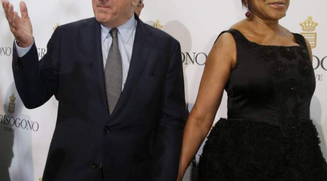 SPLITSVILLE! #RobertDeNiro & wife #GraceHighTower SPLIT after over 20 years! [details]