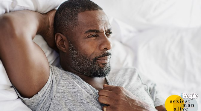MAG TAG: #IdrisElba NAMED 'Sexiest Man Alive' by #People! [details]