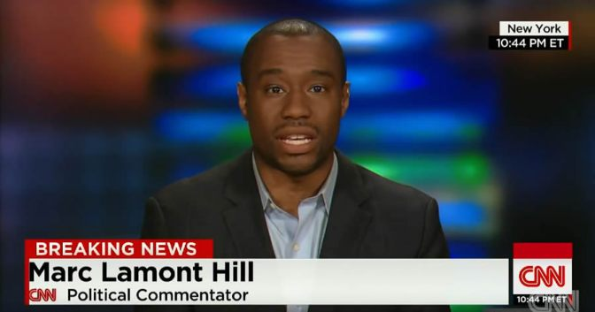 #CNN FIRES commentator #MarcLamontHill after U.N. speech advocating for Palestinian rights! [details]